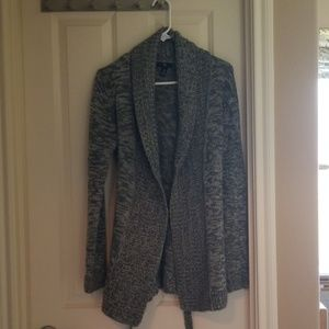 The Gap Grey Variegated knitted Cardigan